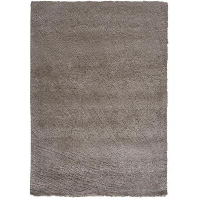 Alfombra shaggy 120x170 cm taupe