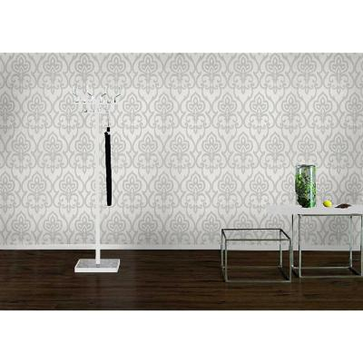 Papel mural Homevision blanco/gris 226 g