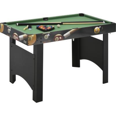 Mesa de Pool 121,5x65x76 cm negra