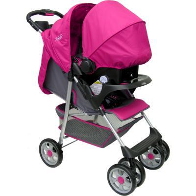 Coche Travel rosado E1001RO