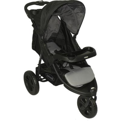 Coche Travel negro y gris P52NG