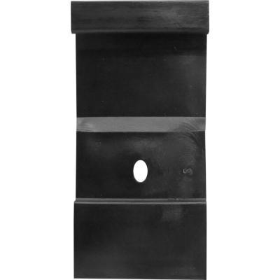 Clip guardapolvo dv 80 negro bolsa 20 un