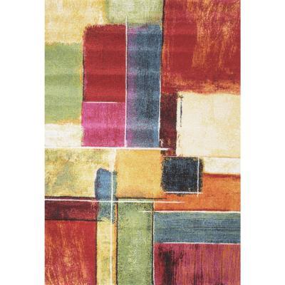 Alfombra inusual formas 80X150 cm multicolor