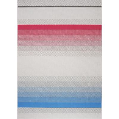 Alfombra jalisco líneas colores 140X200 cm multicolor