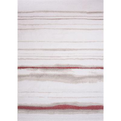 Alfombra Jagger líneas 140x200 cm roja