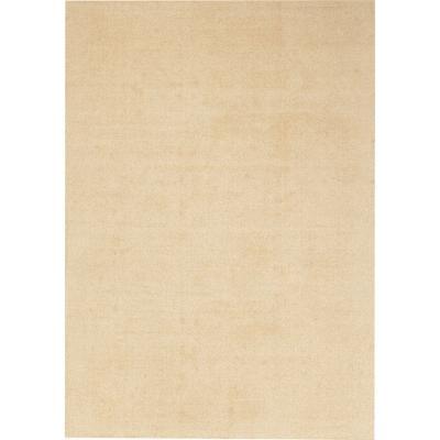 Alfombra wool lisa 160x230 cm beige