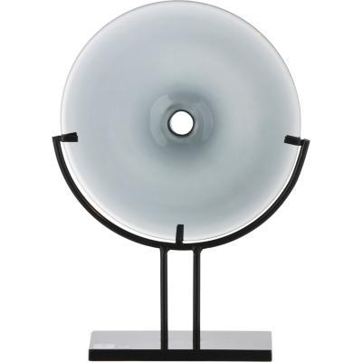 Adorno con base gris 20x7,5x29 cm