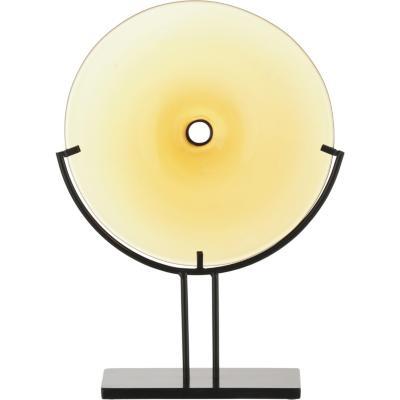 Adorno con base ámbar 24x8,5x35 cm