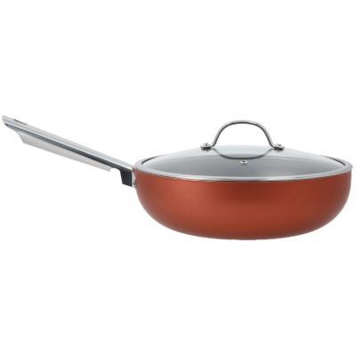 Wok Curry Cobre Antiadherente 28 cm