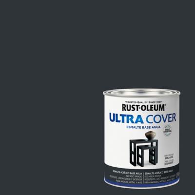 Esmalte al agua Ultra Cover azul marino brillante 1/4 gl