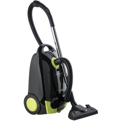 Aspiradora de arrastre 1800 W negro/verde