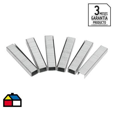 Grampa 1,2x8 mm metal 1000 unidades