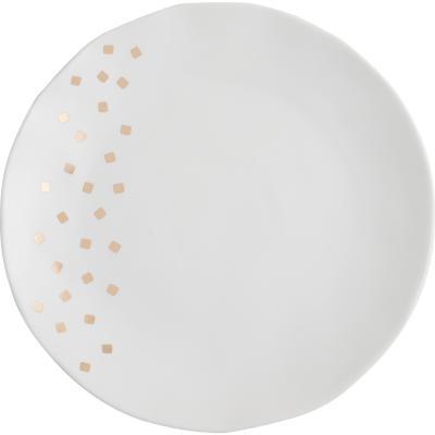 Plato starlight ceramica 25x2 cm
