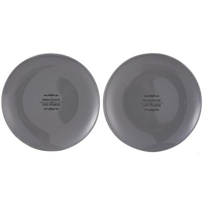 Plato frenchkitchen ceramica 22 cm gris