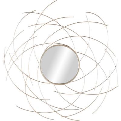Espejo redondo rayos 103x107 cm
