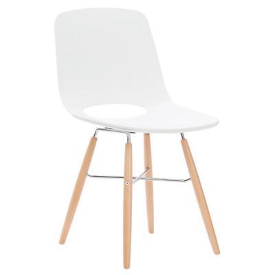 Silla wasosky 83x43x50 cm blanco