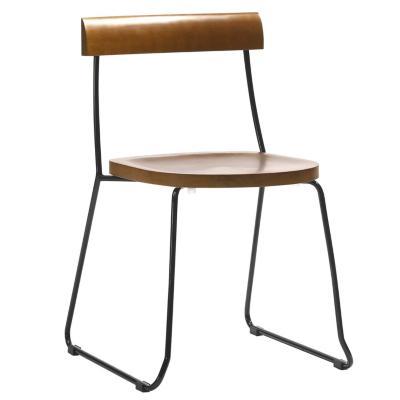 Silla Woodil 74x47x45 cm café