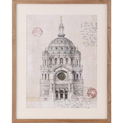 Cuadro 43x53 cm catedral II