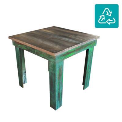 Mesa de comedor cuadrada 80x80 cm