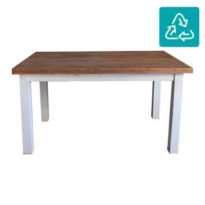 Mesa de comedor rectangular 140x90 cm