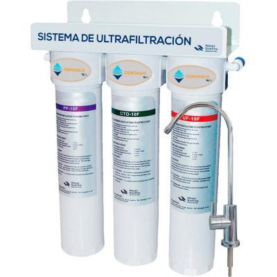 Purificador de agua compacto untrafiltración