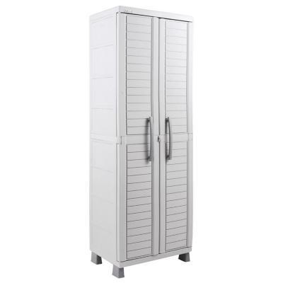 Gabinete plástico 65x45x189 cm gris
