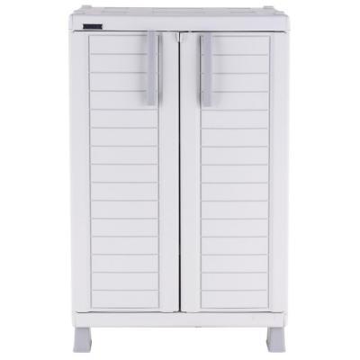 Gabinete plástico 65x45x110 cm gris