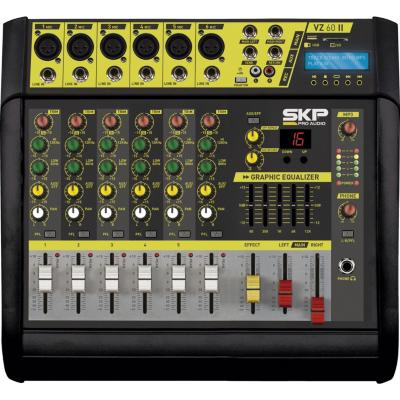 Consola activa 200w 6 canales