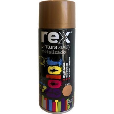 Pintura spray metálico 400 ml cobre