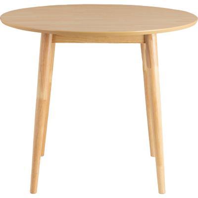Mesa de comedor redonda 90x90 cm