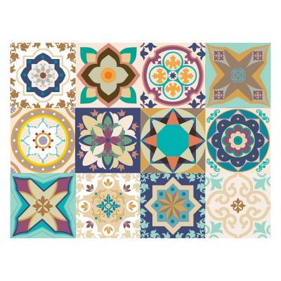 Set 12 vinilos adhesivos 15x15 cm Casablanca