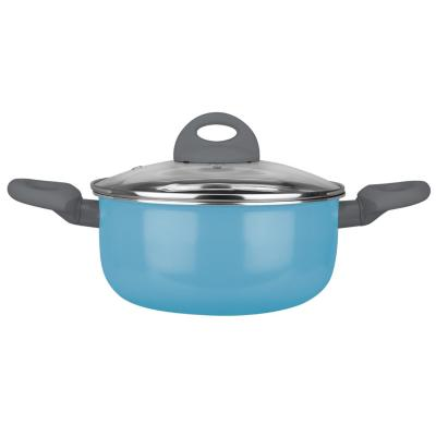 Arrocera de Aluminio 26 cm 3,5 Lts Azul
