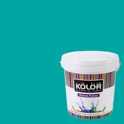 Esmalte al Agua Premium Satinado Azul Karawal 1 GL