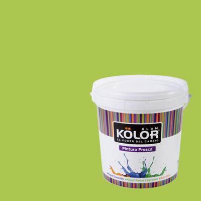 Esmalte al Agua Premium Satinado Verde Kumamoto 1 GL