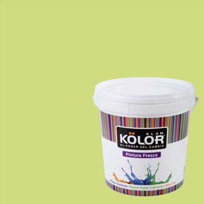 Esmalte al Agua Premium Satinado Verde Manila 1 GL