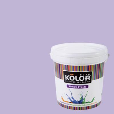 Esmalte al Agua Premium Satinado Morado Angola 1 GL