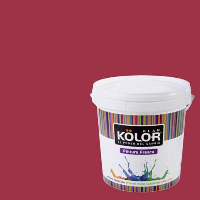 Esmalte al Agua Premium Satinado Rojo Guinea 1 GL