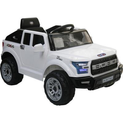 Camioneta a batería Raptor blanco