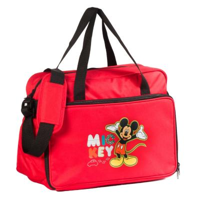 Bolso maternal Mickey Mouse rojo