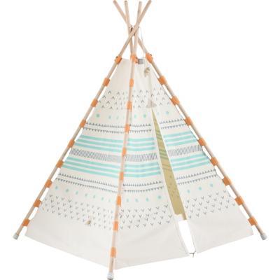 Carpa tipi algodón indio 160x115x115 cm