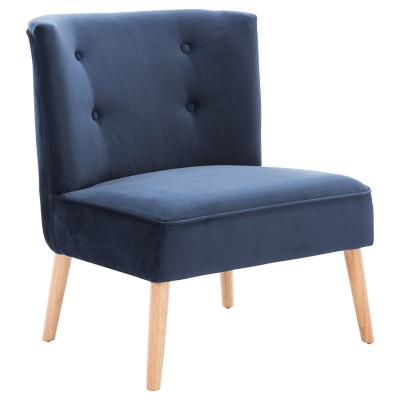 Poltrona 72x70x86 cm azul