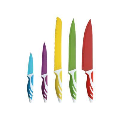 Set 5 Cuchillos multicolor