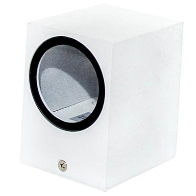 Aplique Brick aluminio blanco
