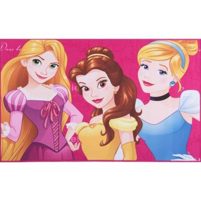 Afombra Princesa 80x120 cm fucsia tres