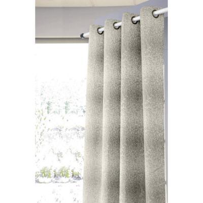 Set de cortinas tela 140x220cm Rahue crudo