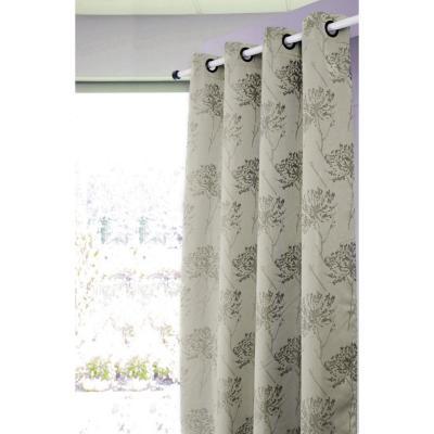 Set de cortinas tela 140x220cm Rahue beige