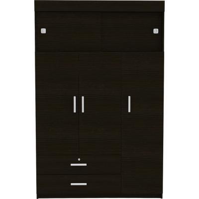 Closet manila z-120 5 puertas - wengue 120x51,5x187,5 cm