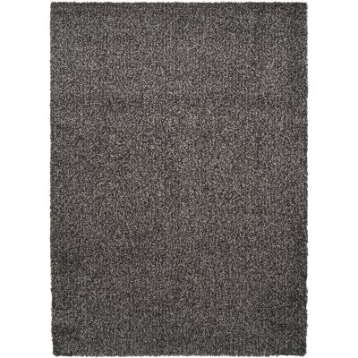 Alfombra shaggy gusto 160x230 cm negro/gris