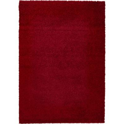 Alfombra shaggy gusto 160x230 cm rojo