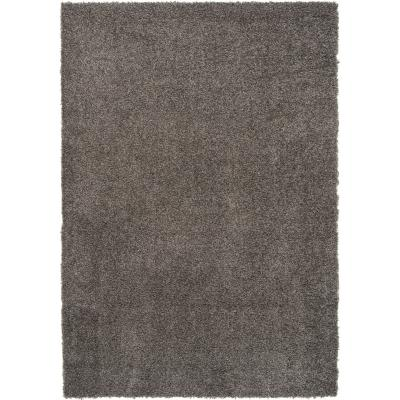 Alfombra shaggy gusto 120x170 cm gris